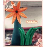 Buy cheap 4m Oxford Cloth Ground Inflatable Flower for Event And Wedding Decoration product