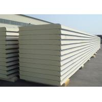 Quality Insulated Polyurethane Sandwich Panel Polyurethane Foam Wall Panels For Clean Rooms wholesale