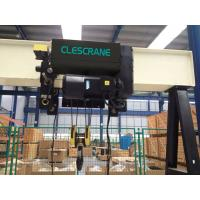 Quality Fixed standard headroom, 2 lifting directions steel wire rope electric hoist for single beam crane wholesale