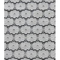 Quality Regularty of typography nylon&cotton Lace fabric  for ladies garment wholesale