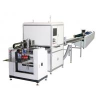 China Full Automatic Hard Case Making Machine / Automatic Positioning Gluing Machine on sale