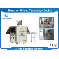 Quality Small Size X Ray Baggage Scanner / Airport X Ray Machine Tunnel Size 500*300 wholesale