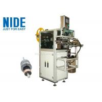 Quality Rotor Insulation Paper Insertion Machine With Low Pressure Alarm Function wholesale