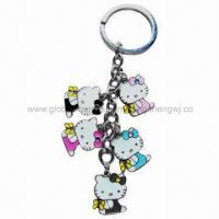 China Cat animal shape keychain with high quality on sale