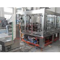 Quality 3 In 1 Automatic Glass Bottle Filling Machine Mango Puree Basil Seed Capping wholesale