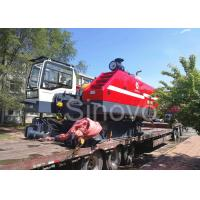 Quality 360° Turning Hydraulic Telescopic Crawler Crane , Max 100T Lifting Capacity wholesale
