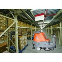 Big Shape Battery Powered Floor Scrubber Dryer Machine To Clean Larger Warehouse Or Shopping Mall