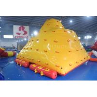 Quality Water Park Floating Water Iceberg For Climbing And Sliding wholesale