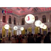 Cheap Durable Custom Inflatable Products / Inflatable Lantern With Led Lighting , 1.2m Diameter for sale