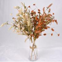 Quality The simulation flower,Artificial flowers,Crepe paper grass flower ,Dried flowers, hardcore cotton ,pine cone wholesale