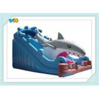 Quality inflatable slide 0.55mm PVC 8*4*5m wholesale