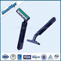 Quality Close Shave Men'S Twin Blade Razors , Lubricant Strip 2 Blade Disposable Razor wholesale