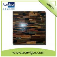 Quality Rustic antique wood mosaic tiles for wall decoration or artistic vision wholesale