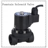 Quality 24VDC  PVC Underwater Fountain Solenoid Valve Normally Closed Customized wholesale
