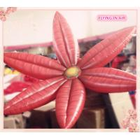 Buy cheap 2m Oxford Red Hung Inflatable Flower for Stage And Wedding Decoration product