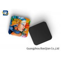 Quality Mini 3D Personalised Tea Coasters / Cup Coasters , Custom Square Coasters Printing Placemat wholesale