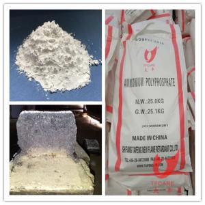 Quality CAS 68333-79-9 Ammonium Polyphosphate Flame Retardant Halogen Free wholesale