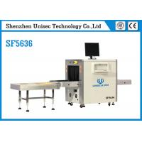 Quality UNIQSCAN High Resolution Dual Energy SF5636 Xray Baggage Scanner wholesale