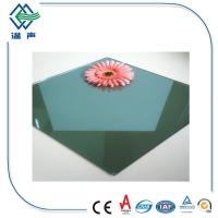 Quality Green / Grey  Multi - layer coated Low Emissivity Glass for architectural wholesale