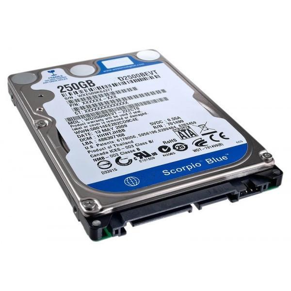 Cheap SATA Hard Disk Drive 2.5 inch 250GB For Desktop Laptop Digital Camera W2500BEVT for sale