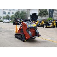 Compact Electric Mini Skid Steer Compact Crawler Small Loader Tracks Machine