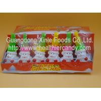 Quality Santa Claus Sweet Crispy Mini Chocolate Beans Multi Color Low Energy 7g * 24 Pcs wholesale