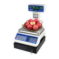 Quality High Accuracy Barcode Weight Scale , Digital Cash Register With Scanner wholesale