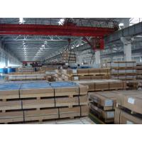China 0.20mm - 320mm Anodized Aluminum Plate , Sheeting Metal Precision Ground Aluminum Plate on sale