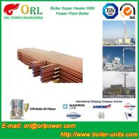 Quality Low Pressure Boiler Super Heater Alloy Steel , Pendant Superheater Customized wholesale