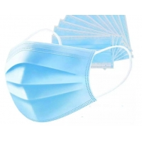 Quality Top quality 3Ply Non Woven Air Anti Virus and Dust disposable Surgical Medical Face Mask , surgical non woven 3 ply mask wholesale