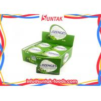 Quality Naturally Breath Fresh Sugar Free Lozenges Eucalyptus Flavored With Blister Pack wholesale