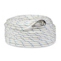"""Cheap 1/2""""x250' Twisted 3 Strand Nylon Anchor Rope with Thimble for sale"""