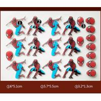 Quality Spider Man PET Chocolate Transfer Molds Personalized One Time Use wholesale