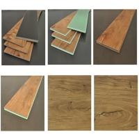 Quality Brown Waterproof Laminate Flooring Long Lasting Construction WPC Material wholesale