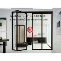 China Glass Folding Door/Aluminium double glazed windows and doors comply with Australian & New Zealand standards on sale