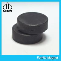 Quality Y30BH Disc Shape Ferrite Magnet , Round Disk Magnets Dia 18mm * 5mm wholesale