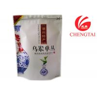 Buy cheap Resealable Gravure printing Stand Up Zipper Tea Packaging Pouch light proof from wholesalers