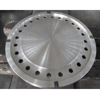 Quality Forged Disc Tube Sheet Finish Machined For Heat Exchanger , Stainless Steel Brake Discs wholesale