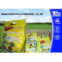 Quality MANCOZEB 64% + CYMOXANIL 6% WP Pesticide Mixture 8018-01-7 57966-95-7 wholesale