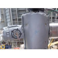 Quality Transmitter Thermal Insulation Covers Removable Grey Fiberglass Materials 300℃ wholesale