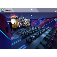 Quality Unique Entertainment 4D Movie Theater With Electronic Motion Seats wholesale