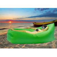 Buy cheap Fast Filled Inflatable Air Bag Sofa Custom Color for Outdoor Traveling / Camping from wholesalers