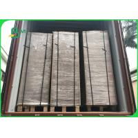 China Wide 75×105CM Recycle Pulp 1200gsm / 2.0mm Grey Carton Gris For Boxes on sale