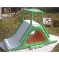 Quality Inflatable Floating Water Slide With Stainless Steel Anchor Rings wholesale