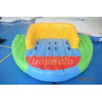 Quality 0.9mm PVC Tarpaulin Inflatable Towable Boat For Lake wholesale