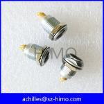 Buy cheap Metal 4 pin female receptacle socket EGG equivalent to Lemo product