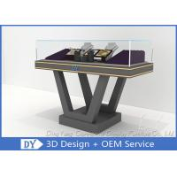 Quality Beautiful Firm Structure Wooden Jewelry Display Cases Counter With Lock wholesale
