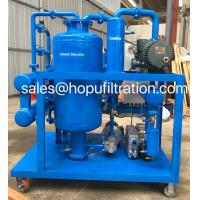 China Super High Voltage Transformer Oil Purifier,Cable Oil Vacuum Dehydrator For Power Station Removing Water And Impurities on sale