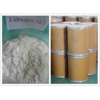 Buy cheap CAS 73-78-9 Local Anesthetic Powder / Lidocaine Hydrochloride for Anti - Paining from wholesalers