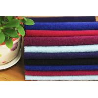 Quality Plain Brushed Wool Polyster Blended Winter Coat Fabric Touch Well wholesale